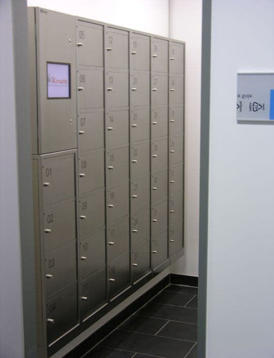 Fachanlage zur Verwaltung von Kfz-Unterlagen